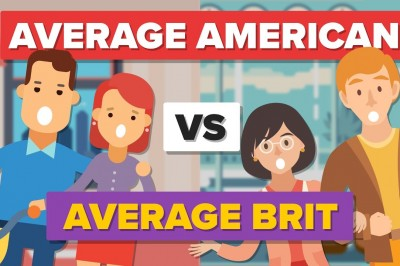 Average American vs Average British Person how do they compare?