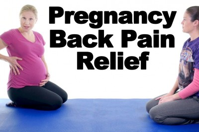 5 Best Pregnancy lower back pain relief exercises