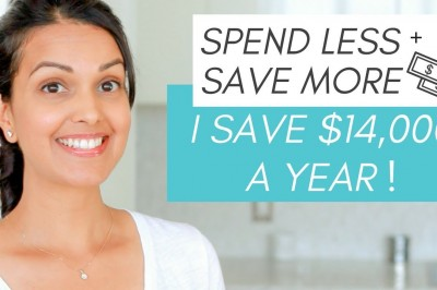 Money Saving Tips - How I saved $14,000 a year