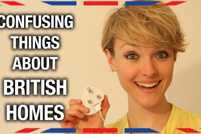 Confusing things about British homes